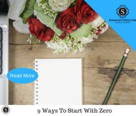 9 Ways To Start A Business with Zero Money